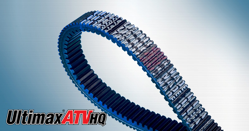 Image showing the Ultimax ATV HQ Belt a CVT Belt and Powersports Belt for ATVs, UTVs, and Side-by-Side Vehicles