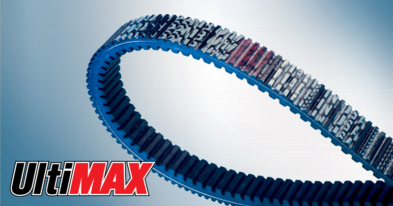 Image showing the Ultimax MAX Belt a CVT Belt and Snowmobile Belt for Snowmobiles
