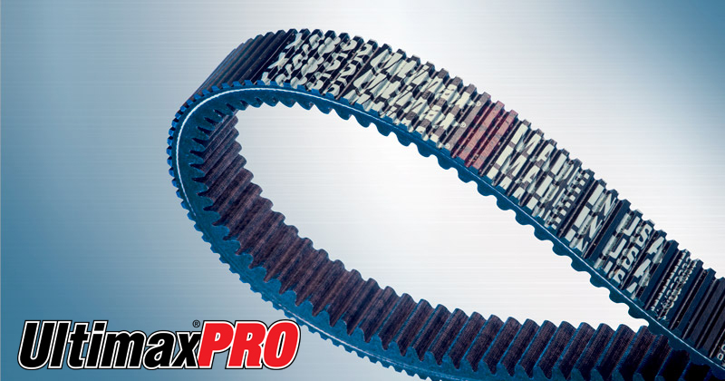 Image showing the Ultimax PRO Belt a CVT Belt and Snowmobile Belt for Snowmobiles