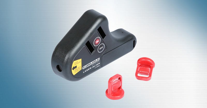 Carlisle Laser-Align is a Quick and Accurate Pulley Alignment Tool