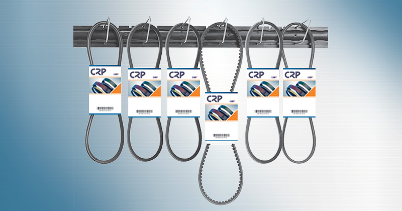 CRP Belt Wallboard Display