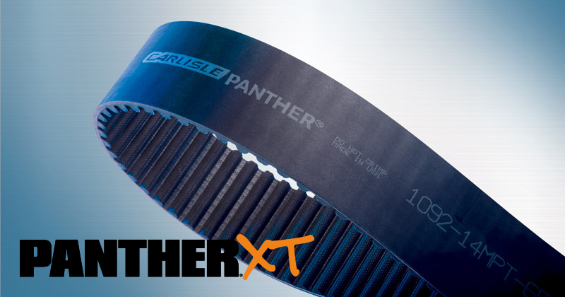Panther XT - High-Performance Synchronous Belts by Carlisle Belts