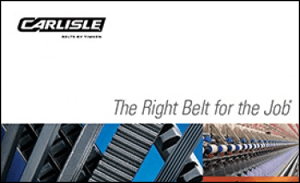 Download the Carlisle Belt by Timken Product Line Brochure