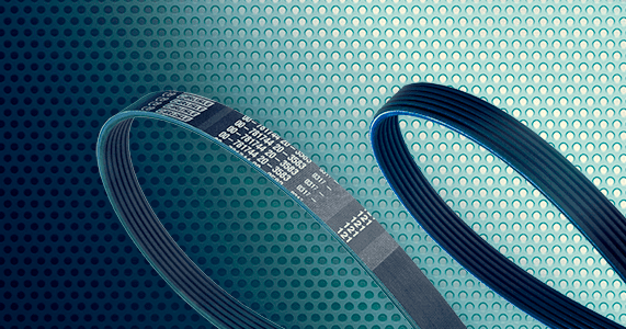 Image Displaying Ribbed Belts Part of the CRP Drive Belts Range