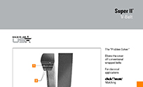Browse Product Spec & Features in Super II V-Belt Brochure