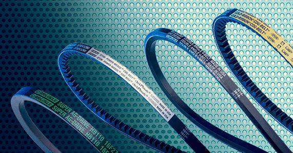 Image Displaying V-Belts Part of the CRP Drive Belts Range